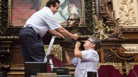 Barcelona retira el busto del Rey Juan Carlos porque es de sentido común