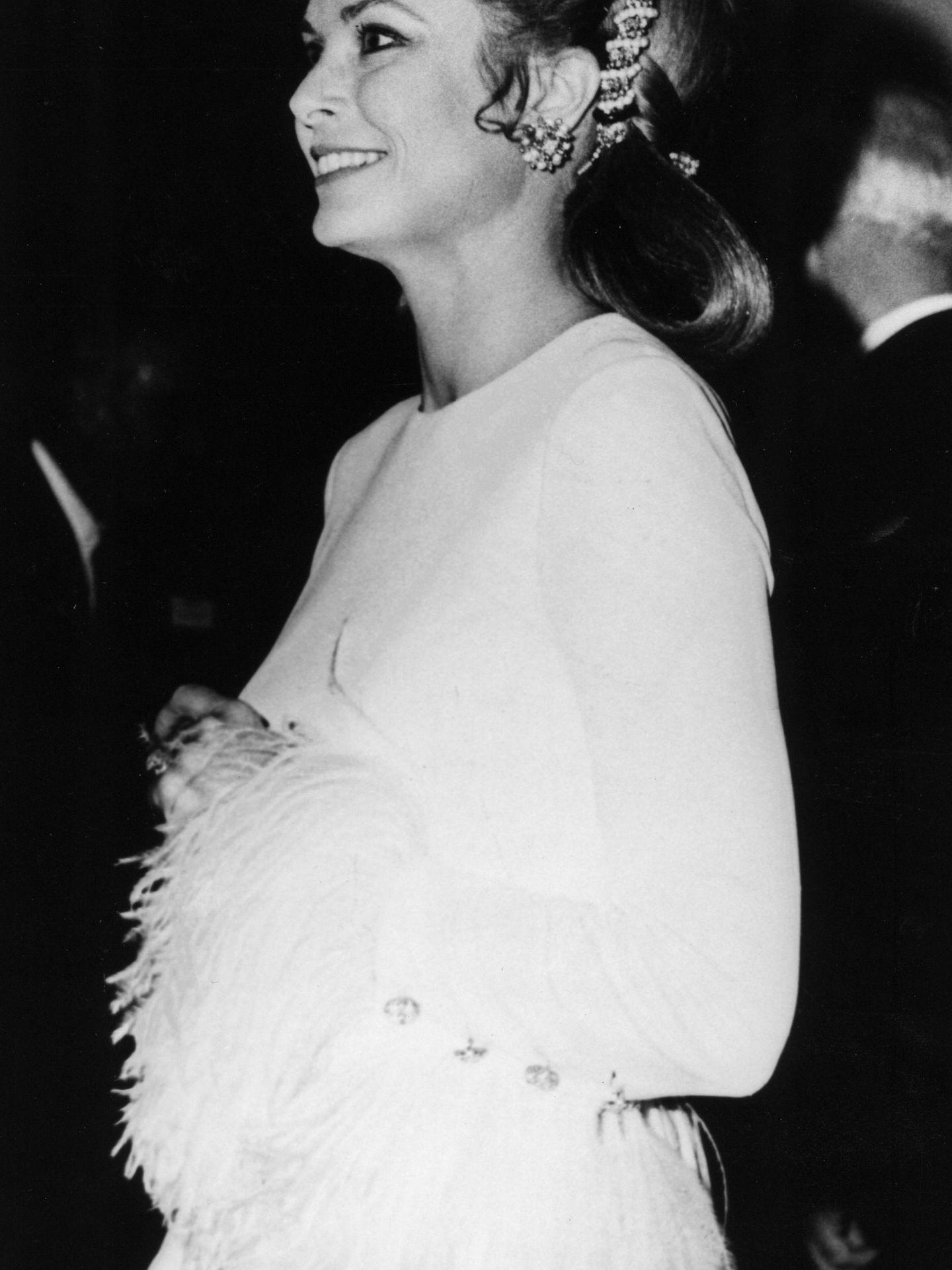 Grace Kelly en 1970, puro glamour. (Cordon Press)