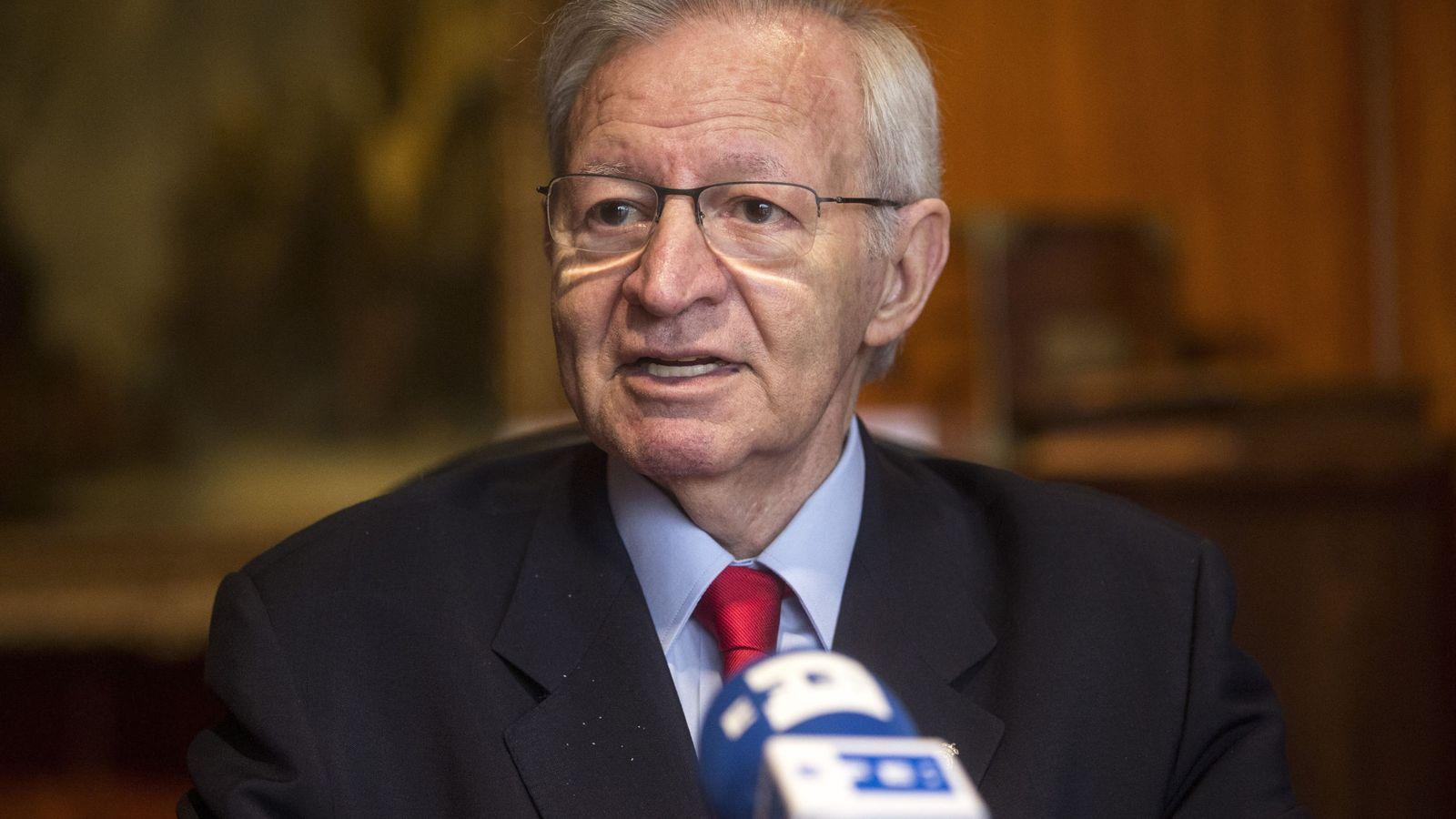 Foto: El presidente de la Cámara de Comercio de Barcelona, Miquel Valls