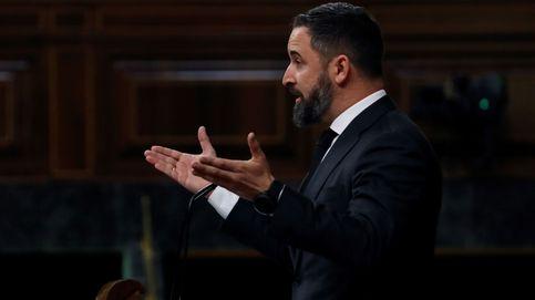 Abascal vota en contra de la prórroga y abre el debate sobre una moción de censura