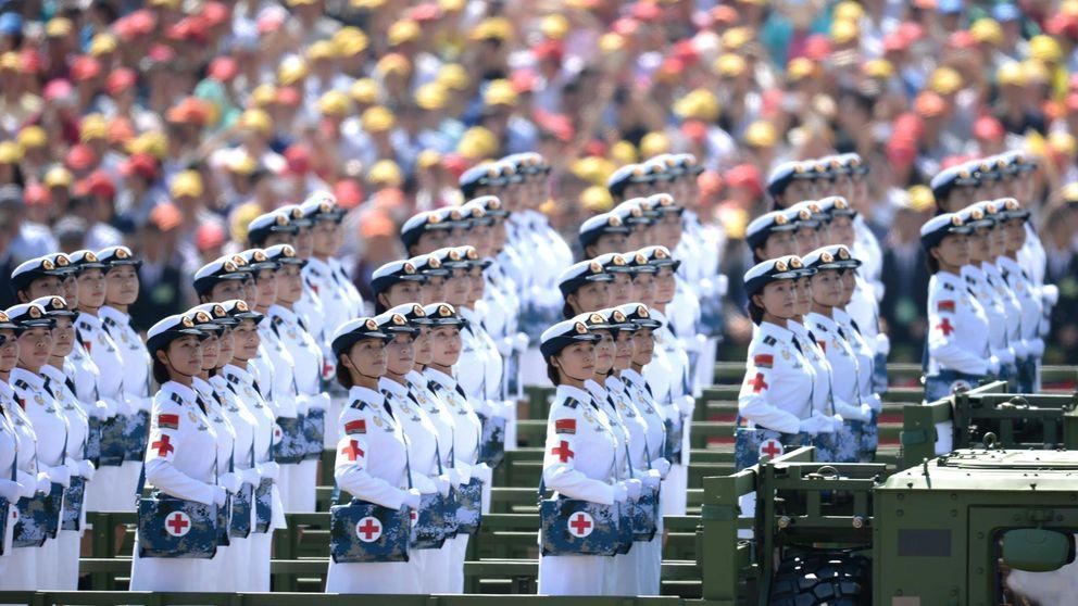 China regala 620.000 televisiones a familias pobres para que vean los desfiles