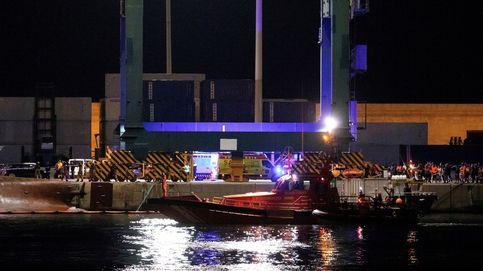 Retoman la búsqueda de los dos desaparecidos en el puerto de Castellón