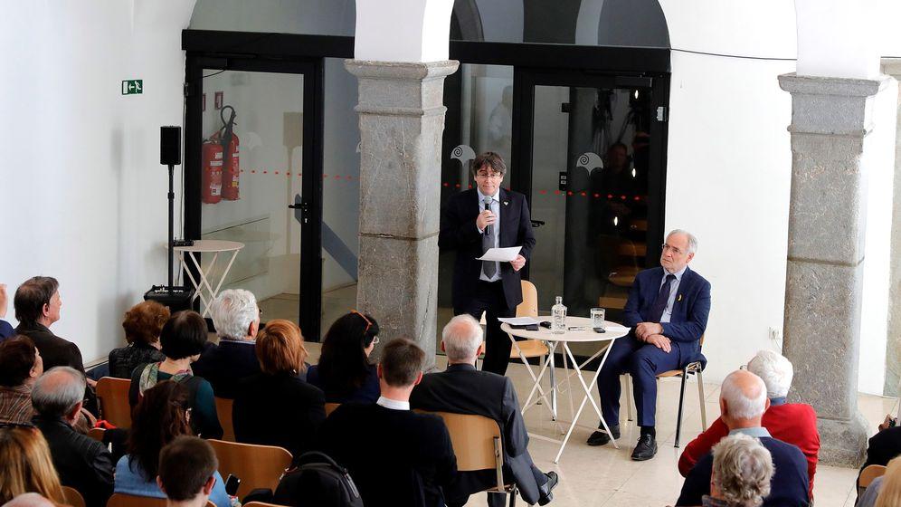 Foto: Puigdemont arranca su campaña a las europeas en Eslovenia. (EFE)