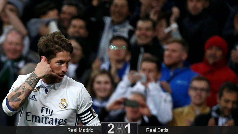 Foto: Ramos marcó de nuevo el gol de la victoria (Sergio Pérez/Reuters).