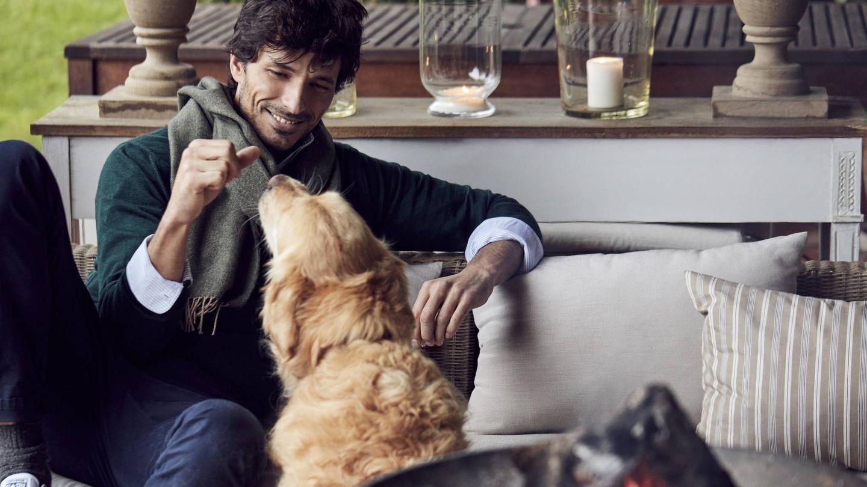 El modelo Andrés Velencoso, en una imagen promocional. (Cortesía The Brubaker)