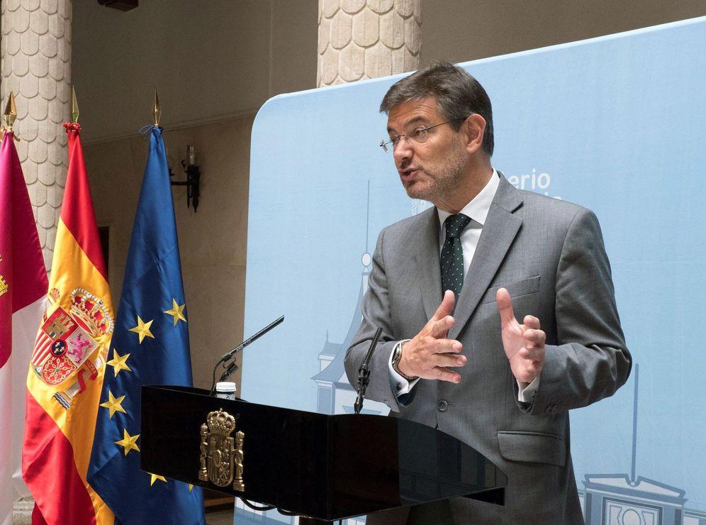 Foto: El exministro de Justicia, Rafael Catalá. (EFE)