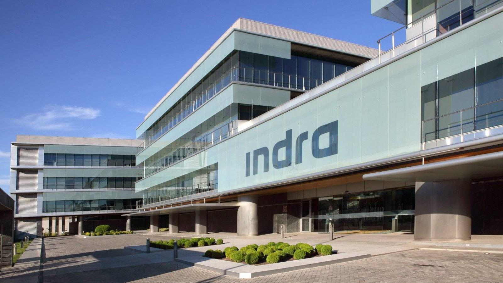 Foto: Imagen de la sede de Indra en Madrid. (Indra)