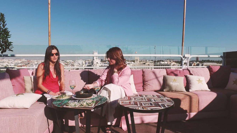 Foto: Patricia Velásquez en un momento de la entrevista