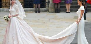 Post de Los vestidos de novia de las Windsor, al detalle: de Isabel II a Diana y Kate Middleton