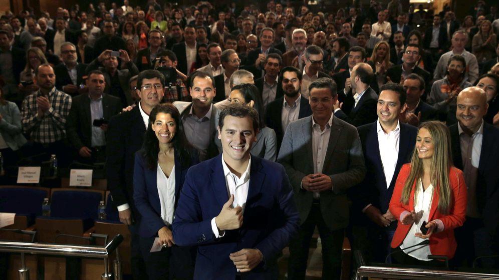 Foto: El líder de Ciudadanos, Albert Rivera.