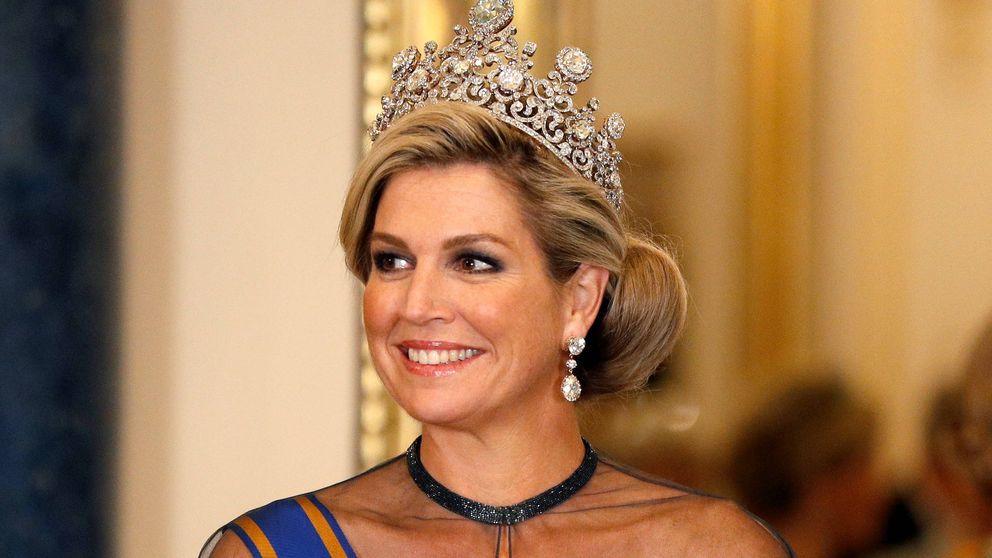 Máxima de Holanda cuenta por qué usó su joya más preciada en Reino Unido