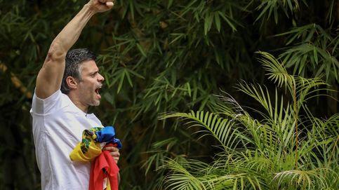 Leopoldo López regresa a su residencia bajo arresto domiciliario