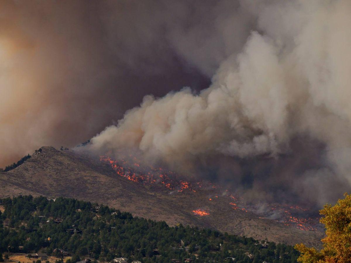 Foto: Incendio en el estado de Colorado, en EEUU. (Unsplash)