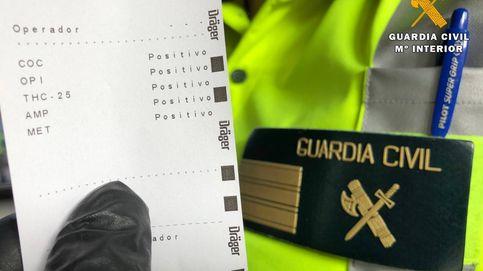 Pleno al 5: detenido un conductor al dar positivo en todas las drogas del 'narcotest'