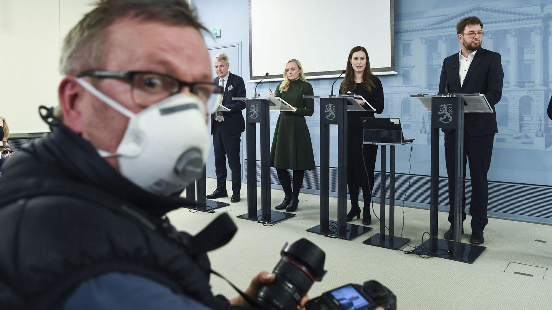 Los finlandeses confían en la respuesta de su Gobierno (EFE EPA/Kimmo Brandt)