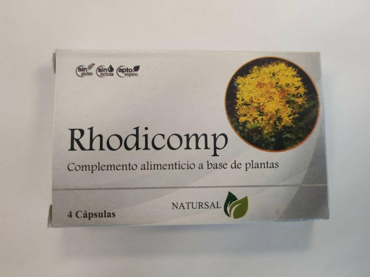 Foto: Imagen de archivo de Rhodicomp Capsulas. (AEMPS/Ministerio de Sanidad)
