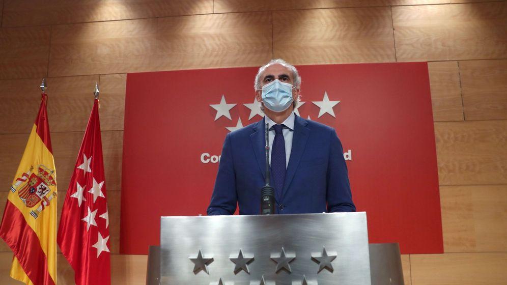 Foto: El consejero de Sanidad madrileño, Enrique Ruiz Escudero, rechazó el plan del Ministerio de Sanidad. (EFE)
