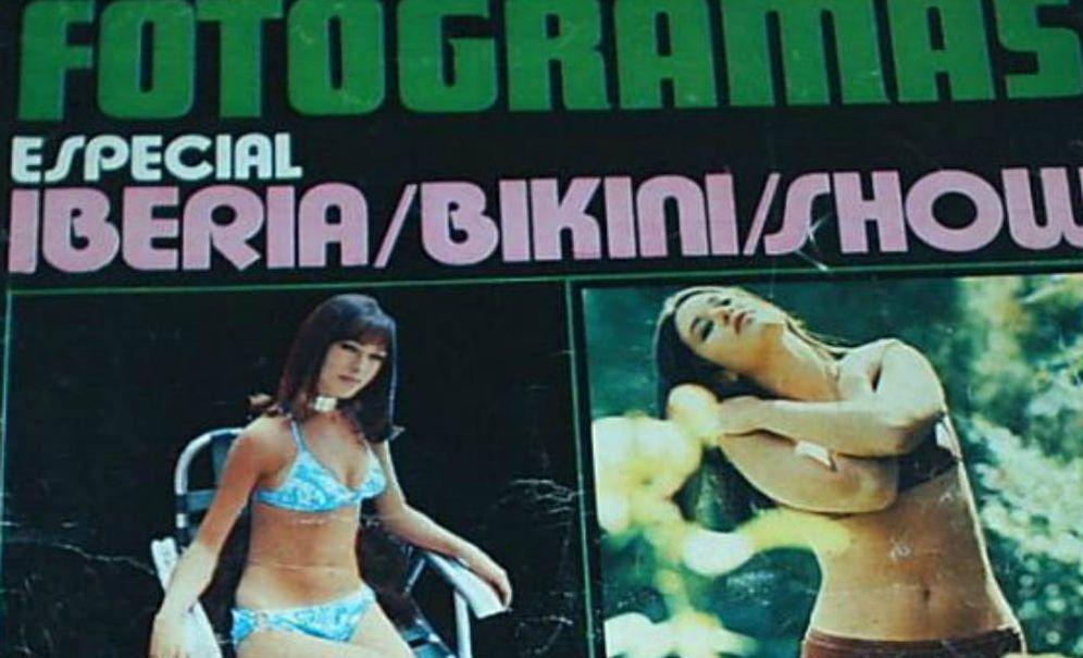 Foto: Marisol en una de las portadas de 'Fotogramas' en 1971. (A Contracorriente)