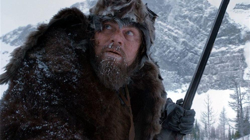 Foto: Leonardo DiCaprio en 'El renacido'