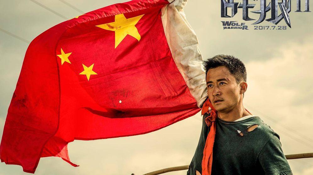Foto: Una imagen promocional de 'Wolf Warrior'. (Beijing Dongfang International Cultural Communications Company,)