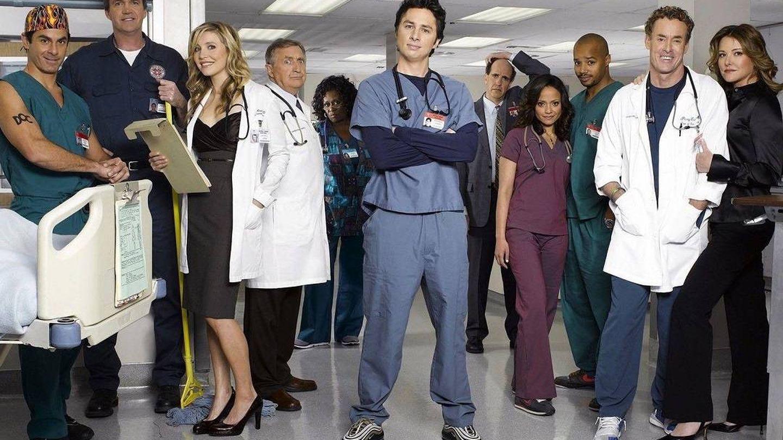 Imagen promocional de la serie 'Scrubs'. (NBC)