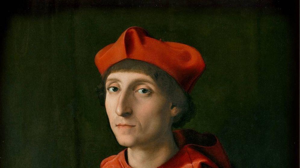 Foto: 'El cardenal', Rafael Sanzio, 1510. Museo del Prado.