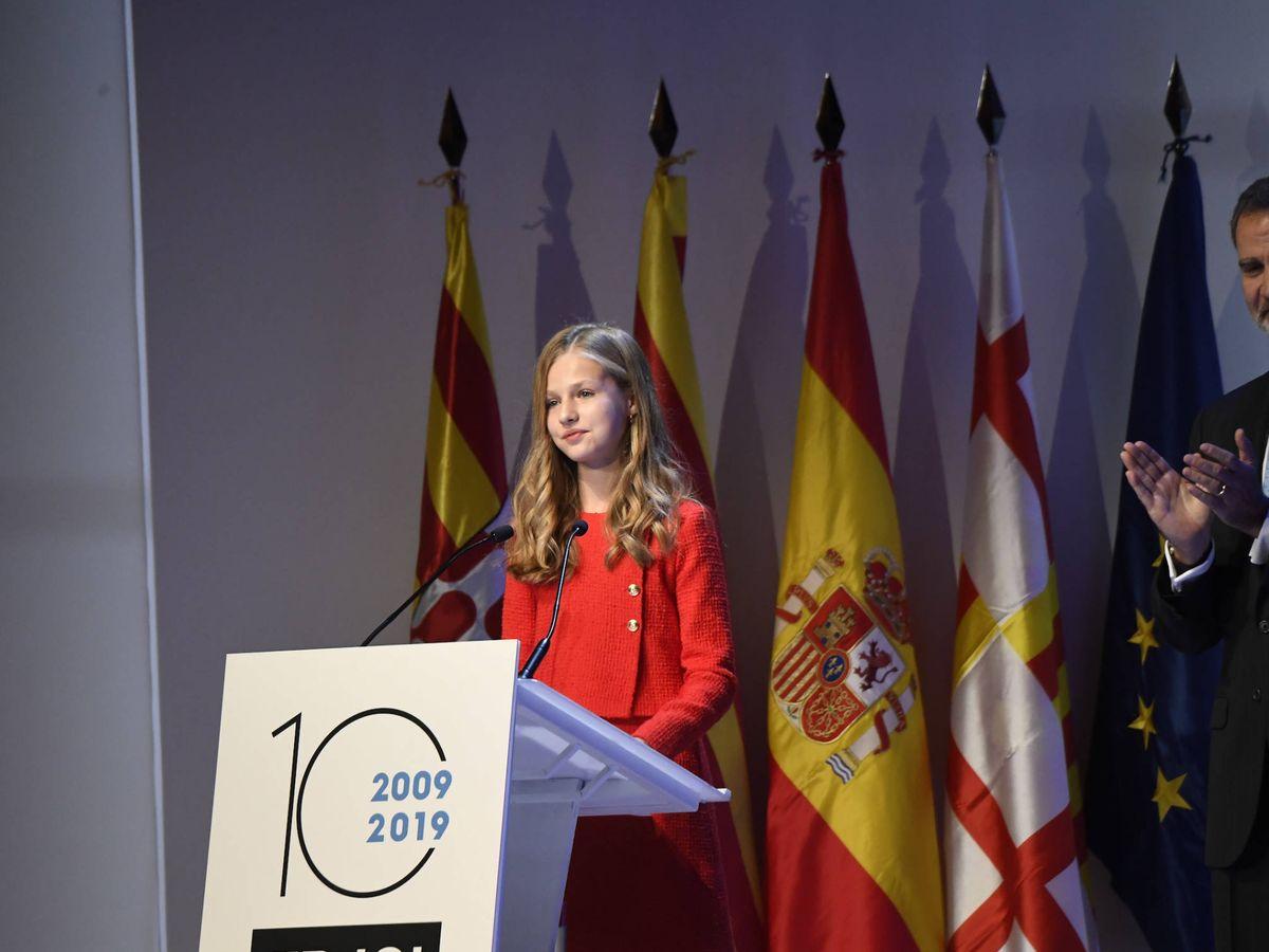 Foto: La Princesa durante su discurso. (Limited Pictures)
