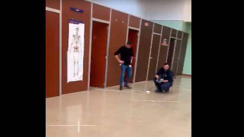 Vídeo: La Paz acondiciona su gimnasio para evitar el colapso de las Urgencias