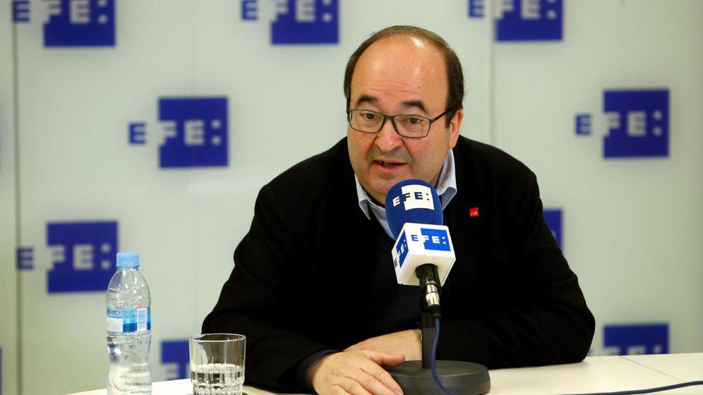 Foto: El primer secretario del PSC, Miquel Iceta. (EFE)