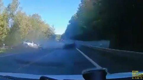 Carrera mortal entre un Ferrari y un Porsche