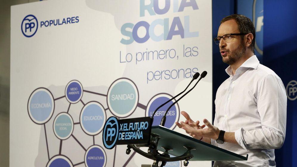 Foto: El vicesecretario general de Sectorial del PP, Javier Maroto. (EFE)
