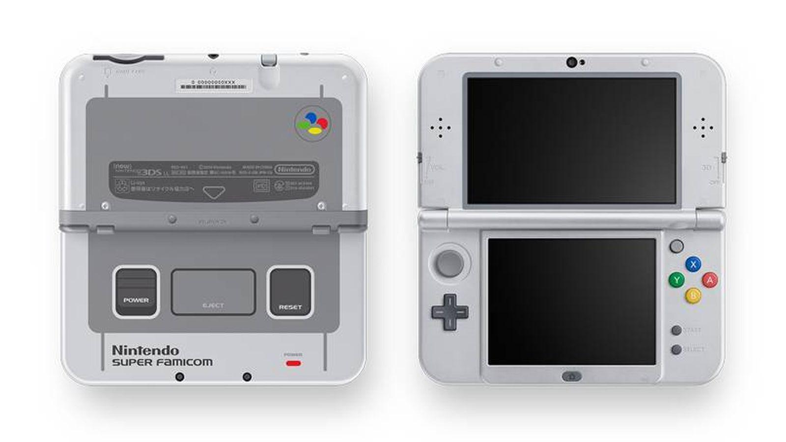 Foto: Nueva Nintendo 3D XL SNES Edition (Nintendo)