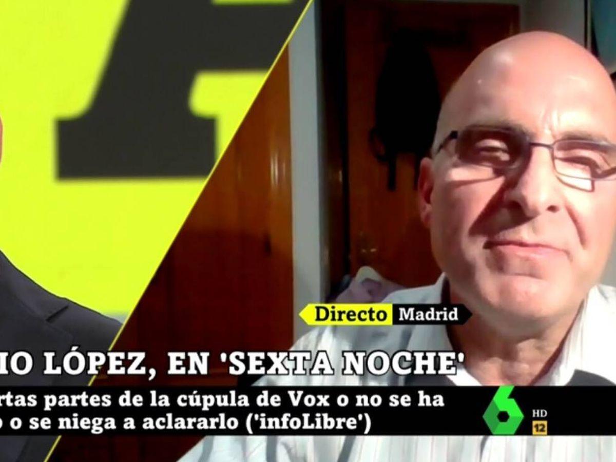Foto: Yélamo y José Antonio López. (La Sexta).