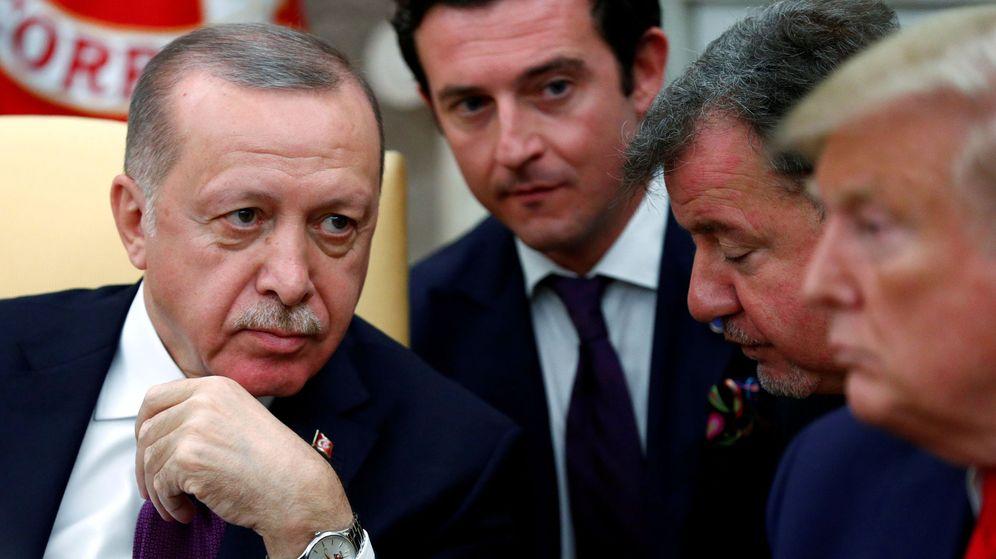 Foto: Tayyip Erdogan y Donald Trump. (Reuters)