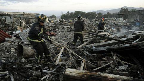 La explosión pirotécnica en San Pablito (México), en imágenes