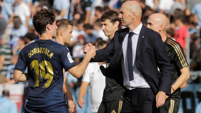 Portazo de Zidane a Odriozola y su ilusión de triunfar en el Madrid como vaticinó Arbeloa