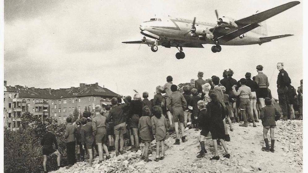 Foto: Berlín en 1949 durante el bloqueo