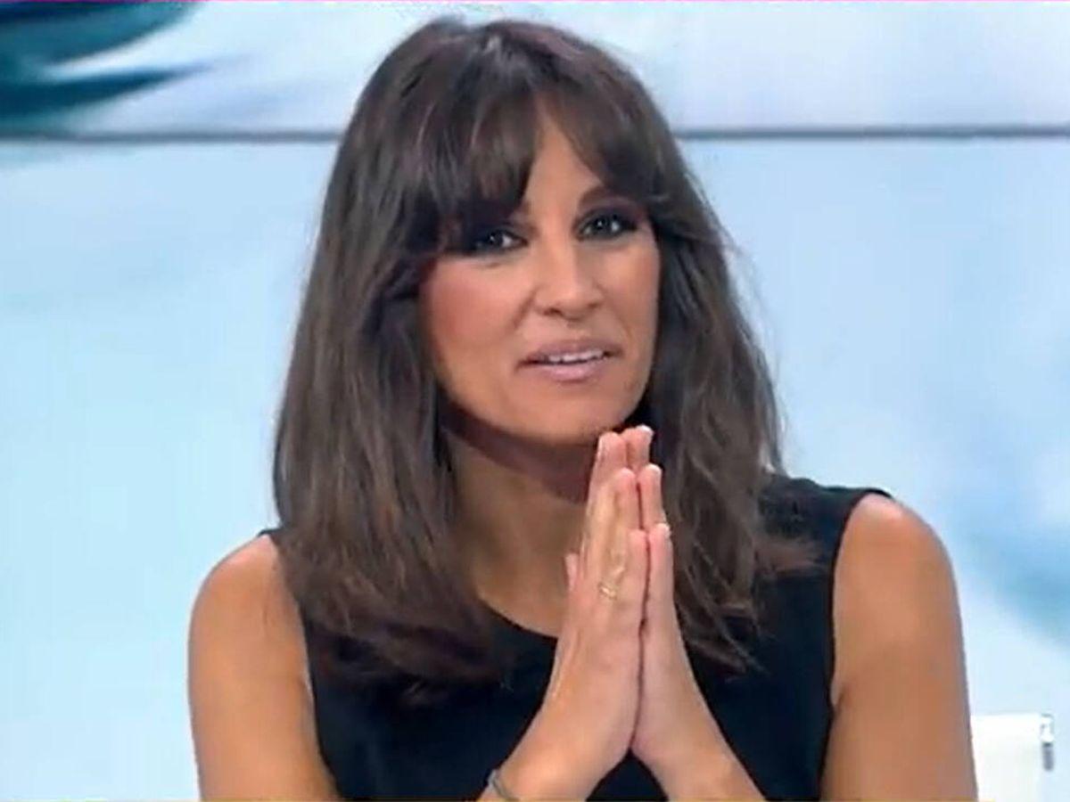 Foto: Lorena García, presentadora de 'Espejo público'. (Antena 3)