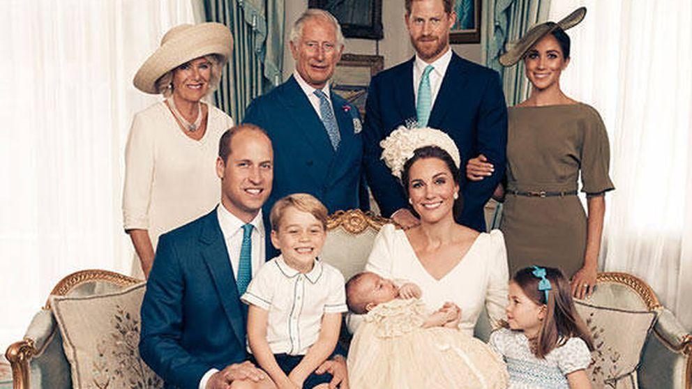 Estos son los retratos oficiales del bautizo del príncipe Louis