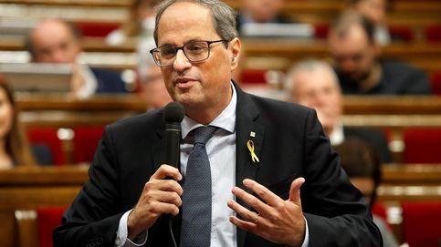 Quim Torra comparece en el Parlamet por la sentencia del 'procés': siga en 'streaming' su discurso