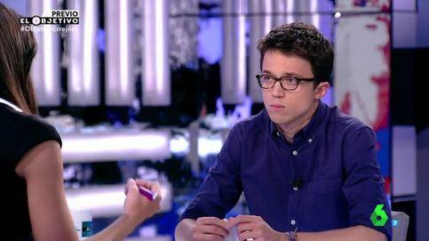 Iñigo Errejón (8%) interesa menos que Pablo Iglesias en 'El objetivo'