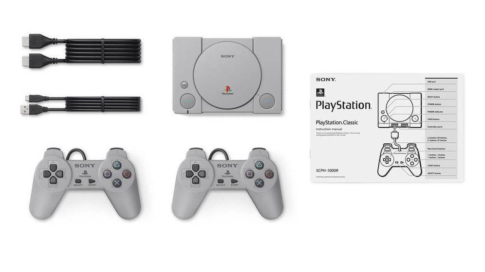 Foto: La PlayStation Classic se lanzará mundialmente el 3 de diciembre (Foto: PlayStation)