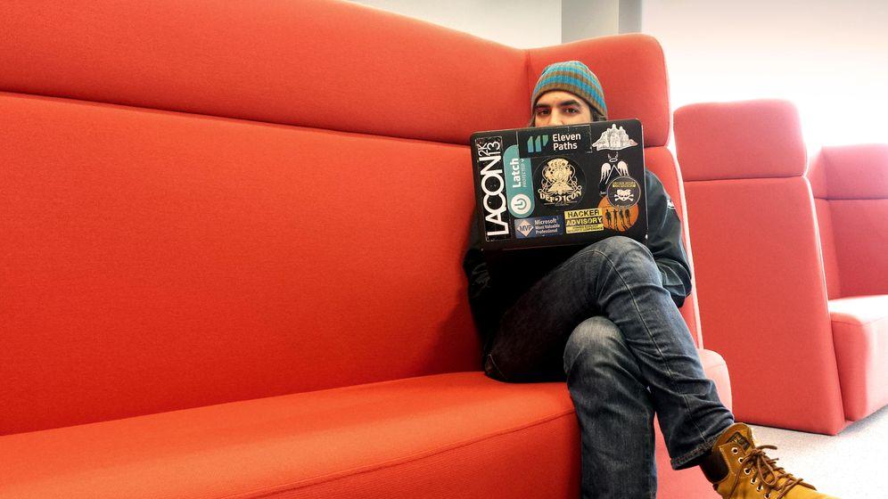 Foto: Chema Alonso, 'hacker' y CEO de Eleven Paths (Fotografía: Pablo Álvarez, Eleven Paths).