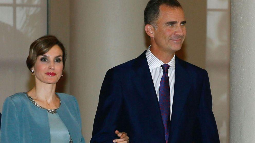 Letizia recupera el hasta ahora desconocido vestido de la boda de Álvaro Fuster