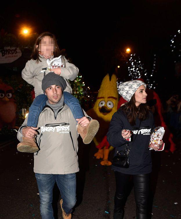 Foto:  David, Paula y Daniella en las Navidades pasadas. (Gtres)