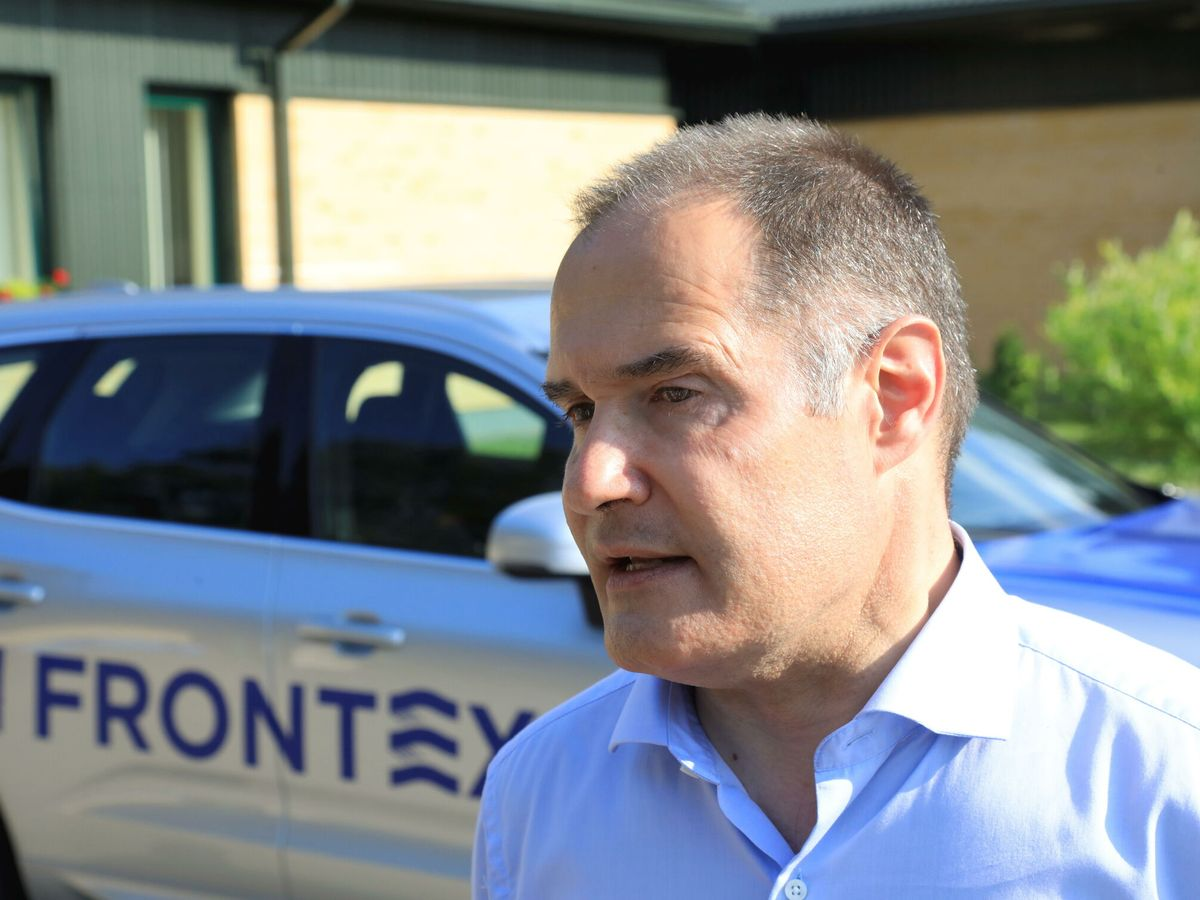 Foto: El director ejecutivo de Frontex, Fabrice Leggeri. (EFE)