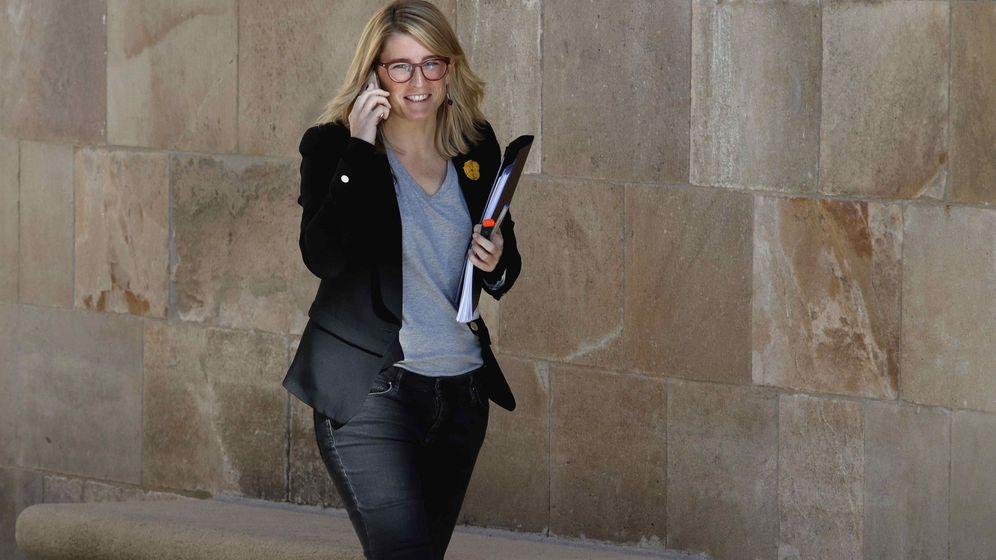 Foto:  La 'consellera' de la Presidencia y portavoz del Govern, Elsa Artadi