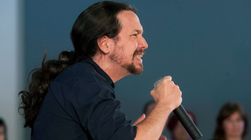 Foto: Pablo Iglesias, líder de la formación morada. (EFE)