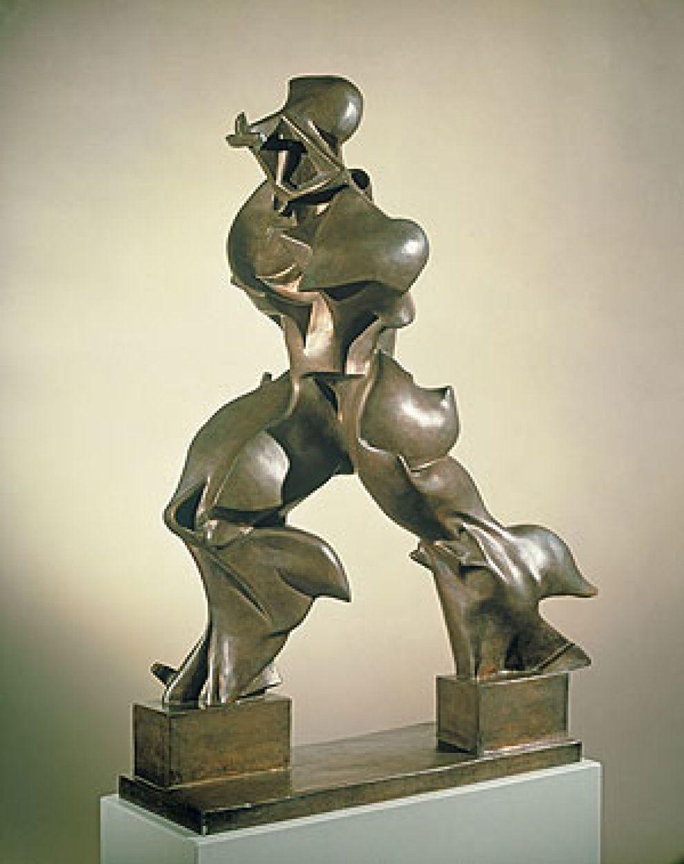 Arte: Los dibujos y las esculturas del futurista Boccioni se ...