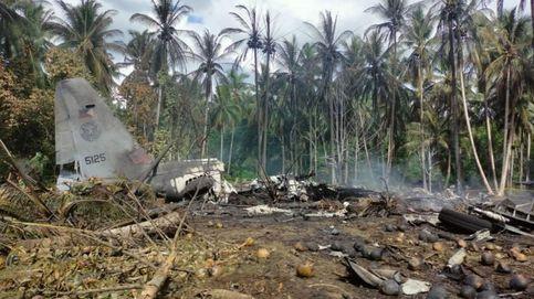 Al menos 43 muertos y 53 heridos en el accidente de un avión militar en Filipinas